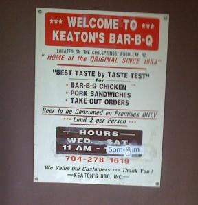 Keatons Door